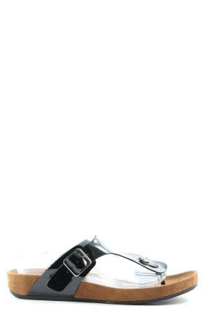 Graceland Flip Flop Sandalen schwarz Casual-Look