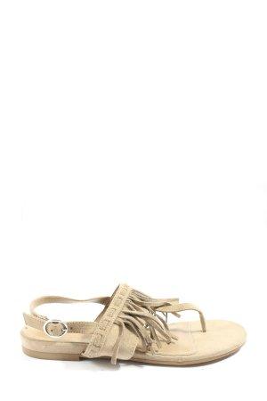 Graceland Flip-Flop Sandals natural white casual look