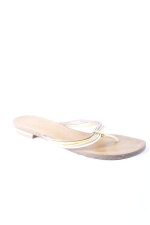 Graceland Flip Flop Sandalen mehrfarbig Schmuck-Applikation