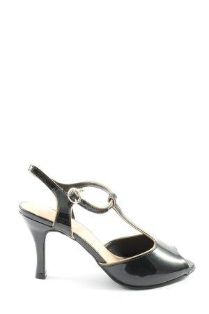 Graceland High Heel Sandaletten schwarz Casual-Look