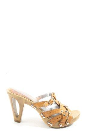 Graceland High Heel Sandaletten hellorange Elegant
