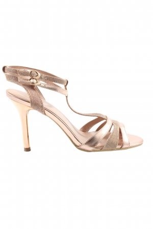 Graceland High Heel Sandaletten bronzefarben Elegant