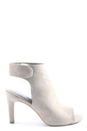 Graceland High Heel Sandaletten hellgrau Elegant