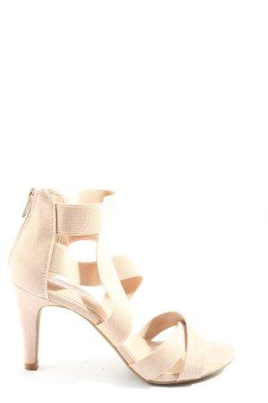 Graceland High Heel Sandaletten creme Casual-Look