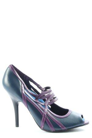 Graceland High Heel Sandaletten blau-lila Business-Look