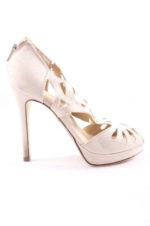 Graceland High Heel Sandaletten wollweiß Elegant