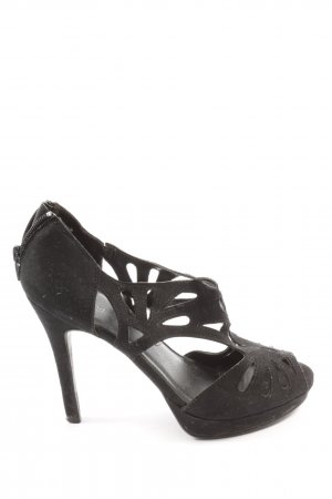 Graceland High Heel Sandaletten schwarz Business-Look