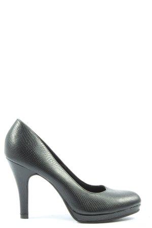 Graceland High Heels schwarz Allover-Druck Casual-Look