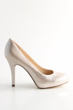 Graceland High Heels wollweiß Elegant