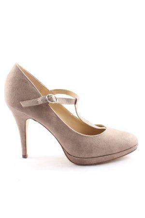 Graceland High Heels lila Business-Look