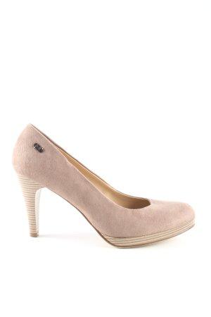 Graceland High Heels creme Business-Look