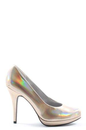 Graceland High Heels goldfarben Elegant