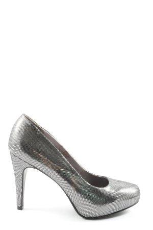 Graceland High Heels silberfarben Elegant