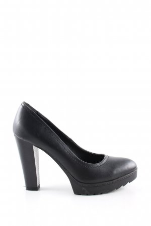 Graceland High Heels schwarz Business-Look