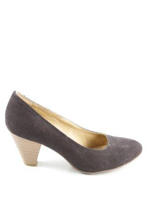 Graceland High Heels braun Business-Look