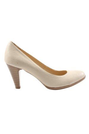 Graceland High Heels wollweiß Business-Look