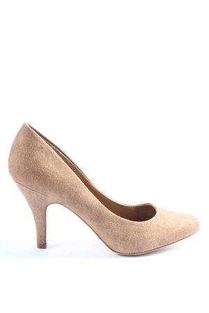 Graceland High Heels braun Casual-Look