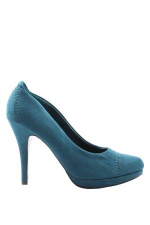 Graceland High Heels blau Casual-Look