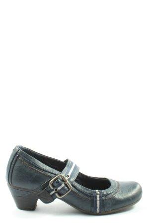 Graceland Hochfront-Pumps blau Casual-Look
