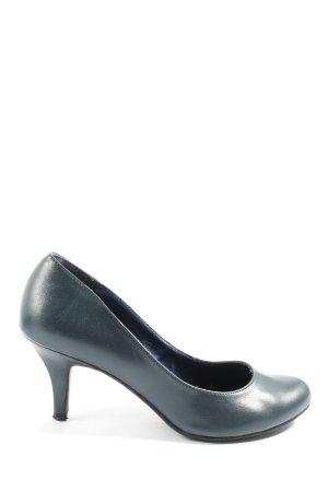 Graceland Chaussure à talons carrés noir style décontracté