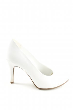 Graceland Décolleté accollato bianco stile professionale