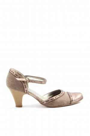 Graceland Hochfront-Pumps bronzefarben Casual-Look