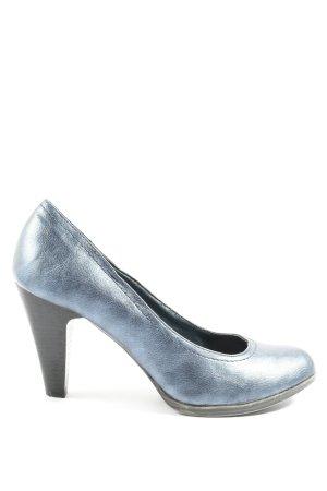 Graceland Décolleté accollato blu stile casual