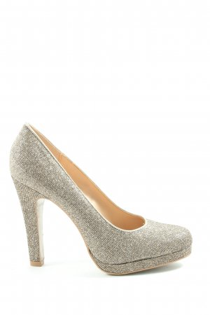 Graceland Chaussure à talons carrés argenté élégant