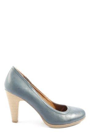 Graceland Hochfront-Pumps blau Business-Look
