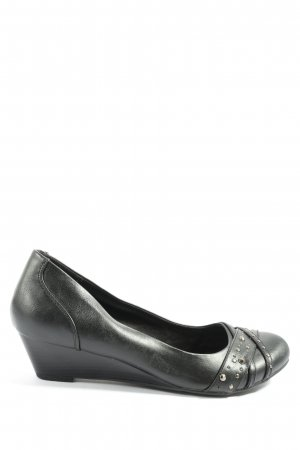 Graceland Wedge Pumps black casual look