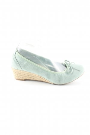 Graceland Wedge Pumps turquoise casual look