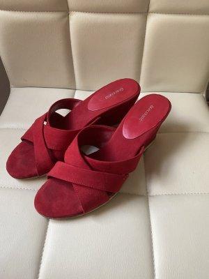 Graceland Sandalo con tacco rosso