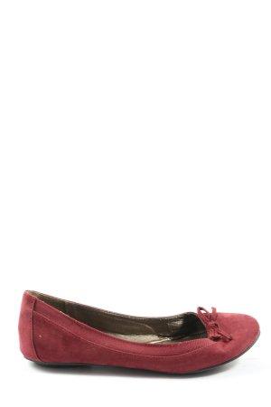 Graceland Klassische Ballerinas rot Casual-Look