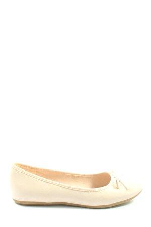 Graceland Klassische Ballerinas creme Casual-Look