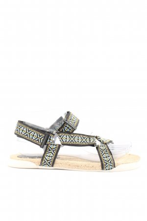 Graceland Comfortabele sandalen grafisch patroon casual uitstraling
