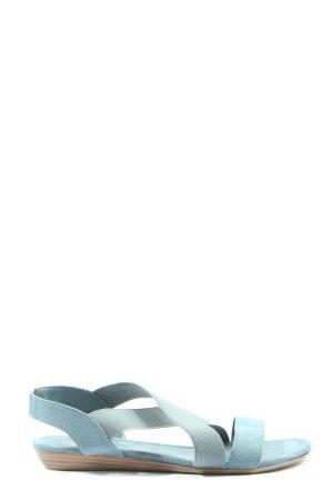 Graceland Komfort-Sandalen blau Casual-Look