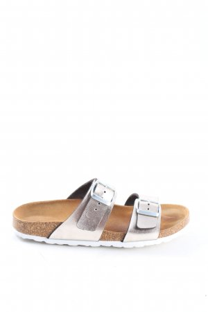 Graceland Sandalo comodo argento stile casual