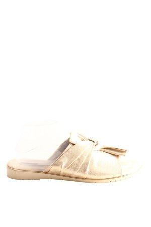 Graceland Comfortabele sandalen goud elegant