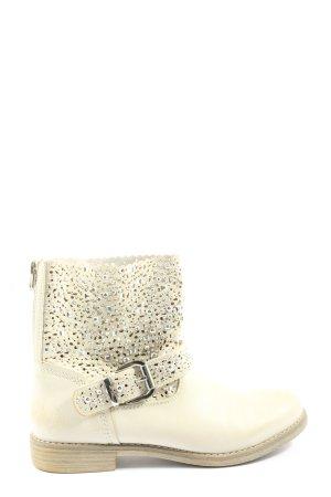 Graceland Kurzstiefel creme Casual-Look