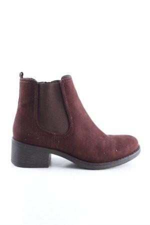 Graceland Korte laarzen rood casual uitstraling
