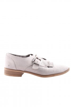 Graceland Mary Jane Halbschuhe hellgrau Casual-Look