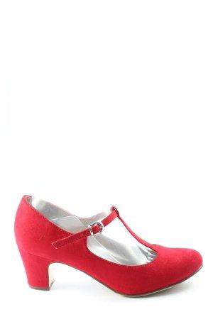 Graceland Escarpins Mary Jane rose style décontracté