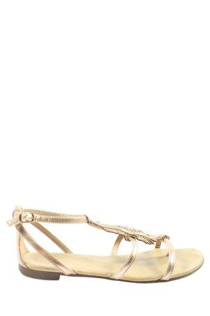 Graceland Sandalo outdoor oro elegante