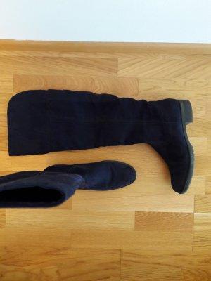 Graceland Overknee Stiefel blau