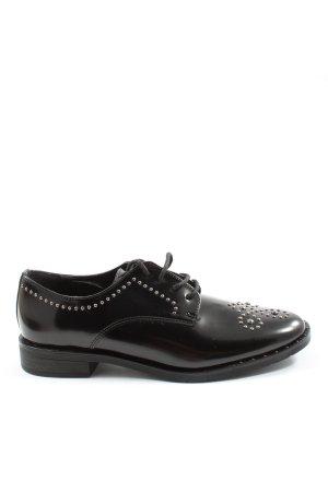 Graceland Chaussure Oxford noir style d'affaires