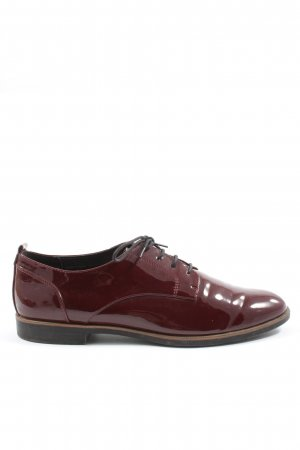 Graceland Chaussure Oxford rouge style d'affaires
