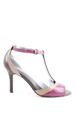 Graceland Peeptoe Pumps mehrfarbig Elegant