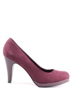 Graceland Décolleté con plateau rosa stile professionale