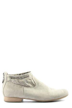 Graceland Reißverschluss-Stiefeletten wollweiß Casual-Look