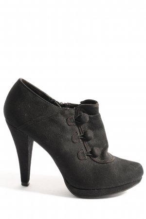 Graceland Reißverschluss-Stiefeletten schwarz Business-Look